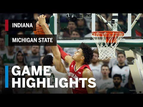 Highlights: Indiana at Michigan State | Big Ten Basketball