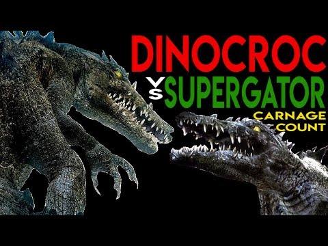 Video Dinocroc vs Supergator (2010) Carnage Count download in MP3, 3GP, MP4, WEBM, AVI, FLV January 2017