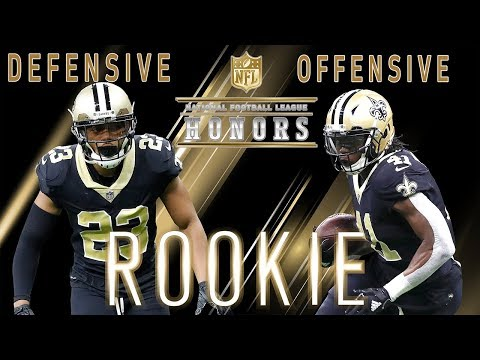 Video: Offensive and Defensive Rookies of the Year! | 2018 NFL Honors