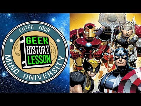 TOP 5 Avengers Stories with Comic Pop!: Geek History Lesson