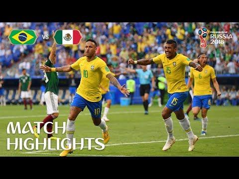 Brazil v Mexico - 2018 FIFA World Cup Russia™ - Match 53 (видео)