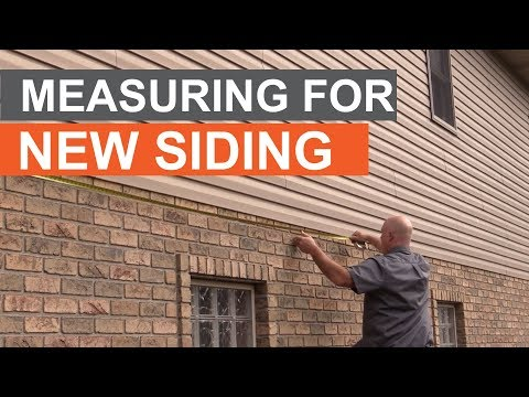 Pros Who Know: Measuring a Home For New Siding