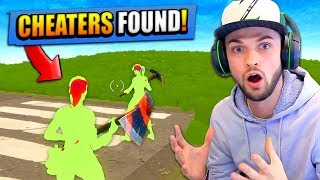 ALI-A vs CHEATERS in Fortnite: Battle Royale! (WHO WINS...?)