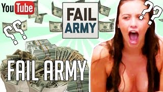 YouTube Earnings Calculator: http://cpmcalculator.weebly.com/So in this video we are going to talk about how much money Fail Army makes on youtube. The money that Fail Army makes on youtube is based on the ads on his videos. Fail Army youtube earnings are fluctuating constantly as the money he makes every day, month and year (daily, monthly and yearly) is changing. Now this video does not however discuss the net worth of Fail Army although we do discuss how much me makes. This money that  Fail Army makes is very indicative of his hard work for his earnings are quite high for someone relatively new to the Youtube fame. Fail Army's earnings 2015 and 2016 are discussed within this video. The money that Fail Army makes is personally known by him only.