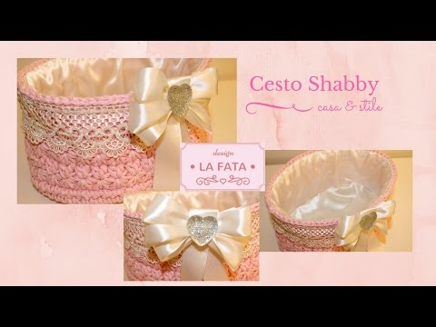 tutorial: cesto shabby chic in tulle