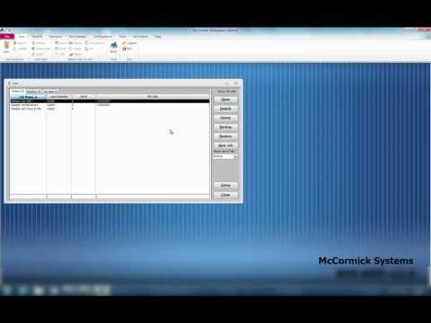 McCormick Systems Training Video 1 - Jobs