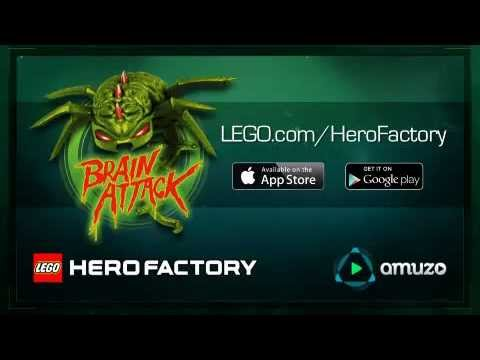 Video of LEGO® HeroFactory Brain Attack