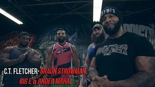 C.T. Fletcher - WWE SUPERSTARS (INVADE THE VALLEY OF THE BEASTS)