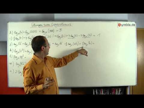 Musterlösungen - Logarithmusgesetze