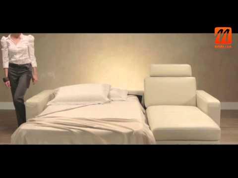 Угловая кровать, Италия