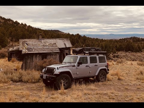 Jeep Car Camping Overland Style - Oregon Homesteads Arrowheads And Petrified Wood