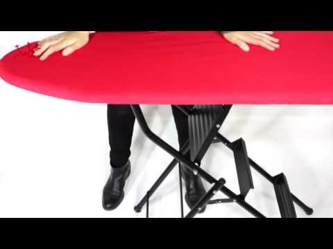 Video: Žehlicí prkno aschůdky 2 v1 Jata 848 S
