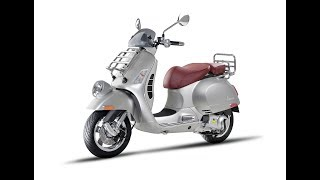 5. Awesome 2017 Vespa GTV 300 ABS
