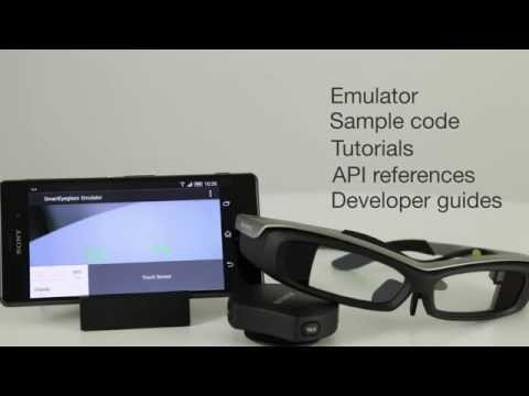 Introducing Sony's SmartEyeglass and how to develop apps