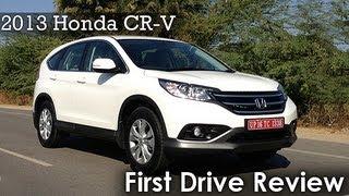 2013 Honda CR-V First Drive Review