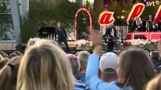 John Martin sjunger Anywhere for you LIVE i Allsång på Skansen 2014.