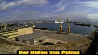 Zeitrafferfilm: Hafen von Palma