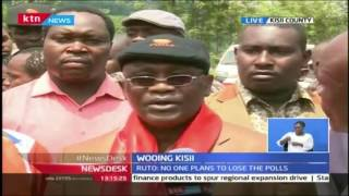 News Desk: Kisii Governor Ongwai Assures Residents Nyacheki Of ODM Win In By Election, 24/10/16