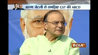 Download Video GST Conclave: Arun Jaitley clarifies on people filling number of forms in order to pay tax MP3 3GP MP4