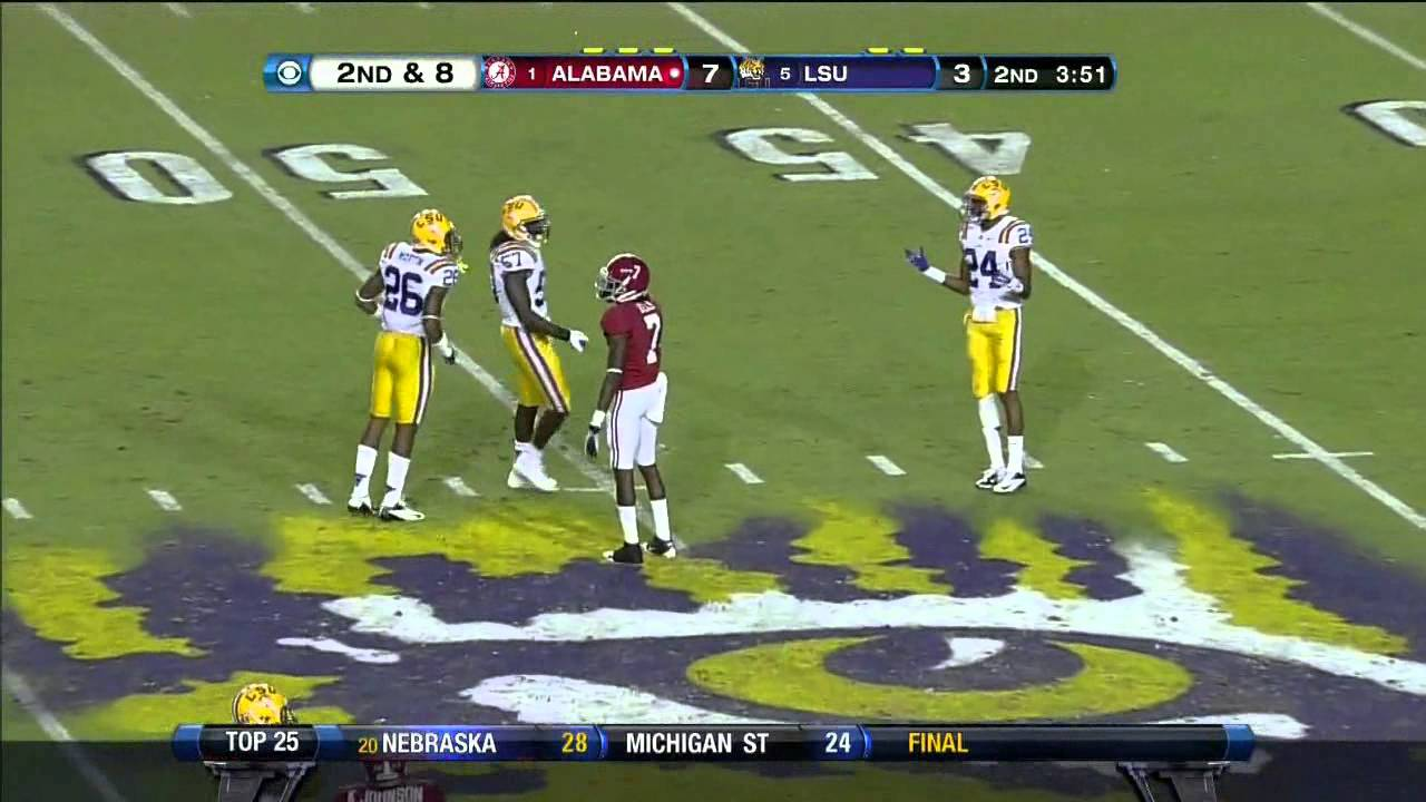 Chance Warmack vs LSU (2012)