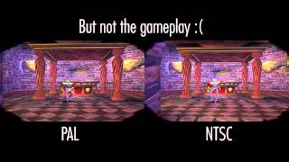 Nonton Medievil PSX - NTSC vs PAL Comparison Film Subtitle Indonesia Streaming Movie Download