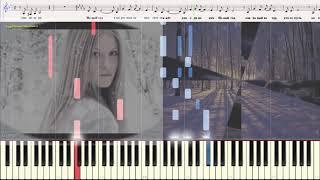 Новый год - Сергей Лазарев (Ноты и Видеоурок для фортепиано) (piano cover)