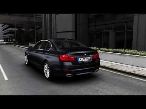 BMW 5-series 2010 BMW 5 Series F10 exterior & interior visualiser walkaround promotional video