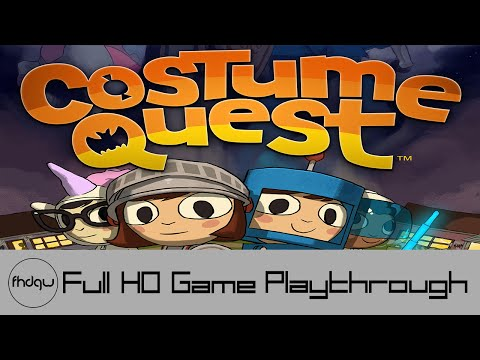 Costume Quest - Full Game Playthrough (No Commentary)