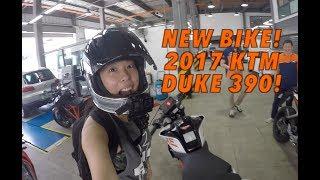 Video GakiMoto 88: Picking up my 2017 KTM Duke 390 MP3, 3GP, MP4, WEBM, AVI, FLV Oktober 2017