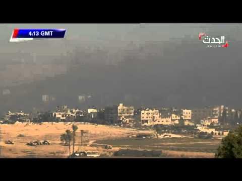 إسرائيل تدمر حيّاً في ساعة