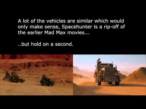 Mad Max Fury Road Vs Spacehunter: Adventues In The Forbidden Zone