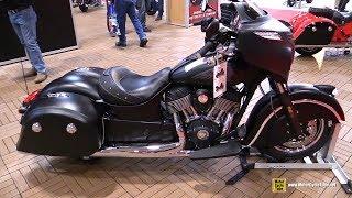 10. 2017 Indian Chieftain Dark Horse - Walkaround - 2017 Toronto Motorcycle Show