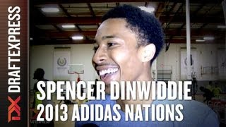Spencer Dinwiddie - 2013 adidas Nations - Interview