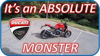 5. 2017 Ducati Monster 1200 R - Test Ride Review