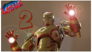 Video IRONMAN Stop Motion Action Video Part 2 MP3, 3GP, MP4, WEBM, AVI, FLV Desember 2018