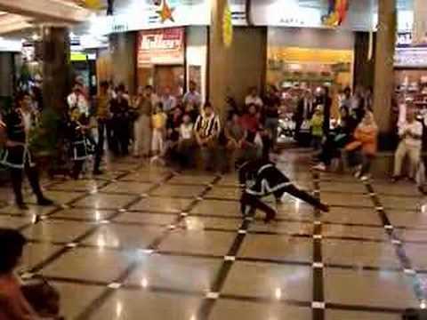lezgi - Azeri Dance in Plaza,Kish,Iran.