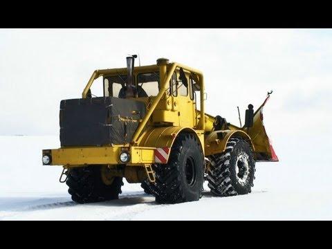 Снегометатель на тракторе МТЗ