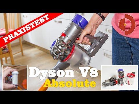 Dyson V8 Absolute Test - Was kann der Neue Akkustaubsauger?