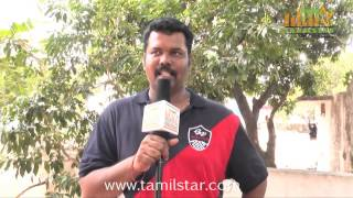 Padmanaban Speaks at Muthu Kumar Wanted Movie Shooting Spot