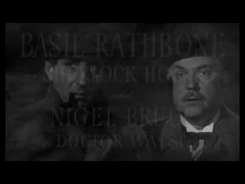 Sherlock Holmes and THE SECRET WEAPON (1943) BASIL RATHBONE