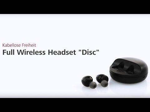 Hama Full Wireless Headset (видео)