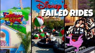 Video Top 5 Failed Disney Rides & Attractions | Disney World and Disneyland MP3, 3GP, MP4, WEBM, AVI, FLV Juli 2019