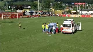 Download Lagu Abdelhak Nouri has collapsed to ground Werder Bremen vs Ajax 2-1 Mp3