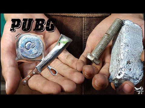 Chế tạo con dao và chảo mini Pubg