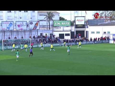 Resumen, Atlético Sanluqueño 0-0 Los Barrios