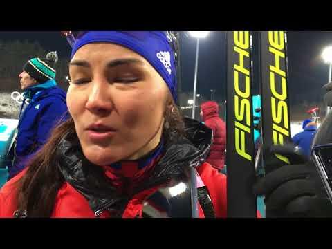 Татьяна Акимова о результатах смешанной эстафеты на Олимпиаде