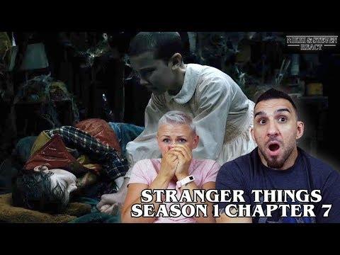Stranger Things 'Chapter Seven: The Bathtub' REACTION!
