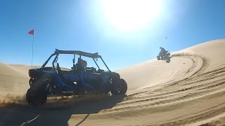 8. 2015 RZR XP4 1000 dune run at Glamis. 13 minutes, unedited.