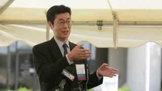Athens (AL) United States  city images : Asahi Kasei Pharma America, Director Takashi Mukuno at Athens, AL Groundbreaking