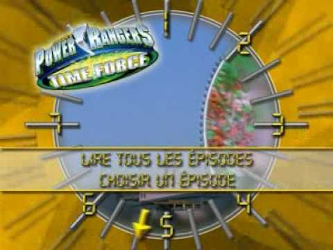 Power Rangers : La Force Du Temps Playstation